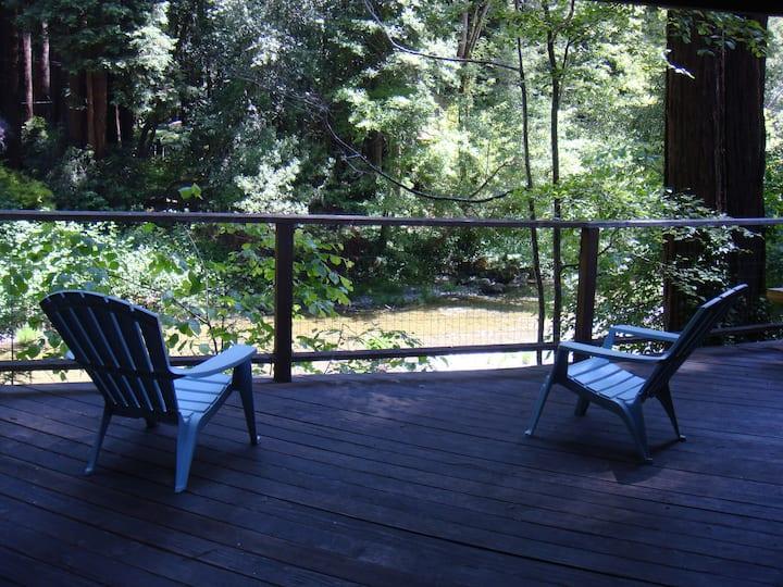 CASA DE CAZA Creek | Fireplace | Hot Tub