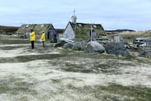 1.5 KM from L'Anse aux Meadows National Historic Viking Site & Norstead a Viking Port of Trade (pictured)