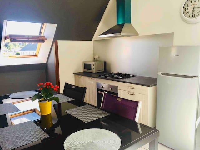 Spacieux appartement en plein centre de Quimperlé