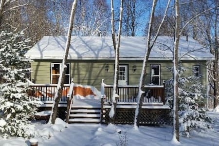 Beautiful Cottage with Sandy Beach Waterfront - Eagle Lake - Sommerhus/hytte