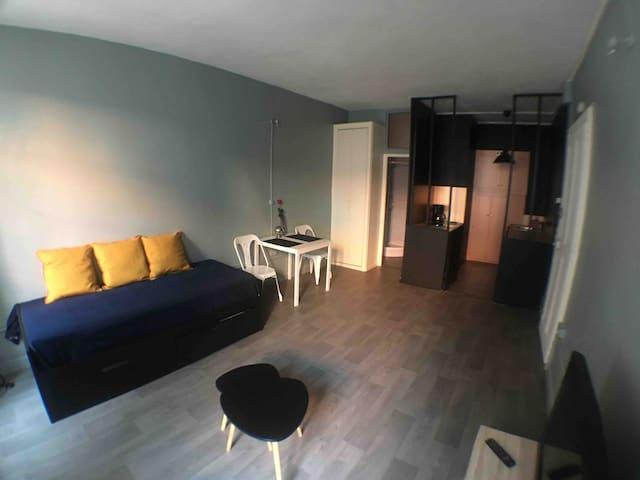 Studio 26m2 au centre d'Aix les bains