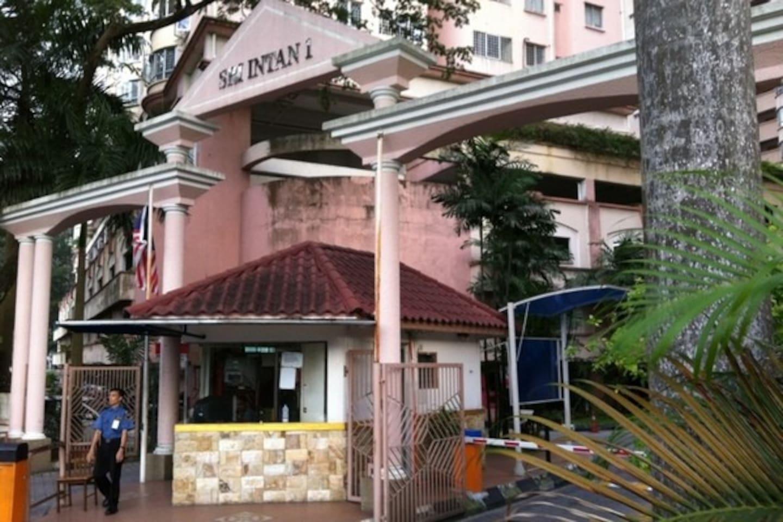 Sri Intan 1 Condominium Main Gate