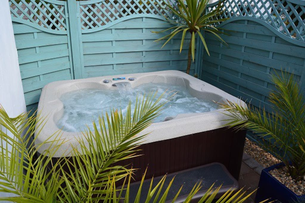 Unwind in your own hot tub