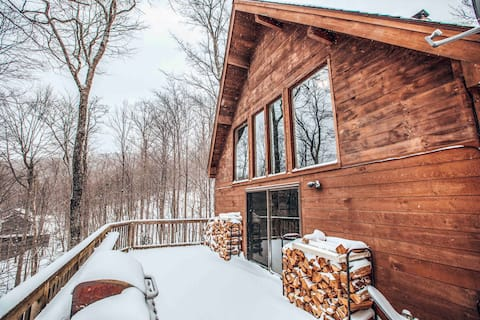 Killington Mt. cabin- a cozy winter getaway!