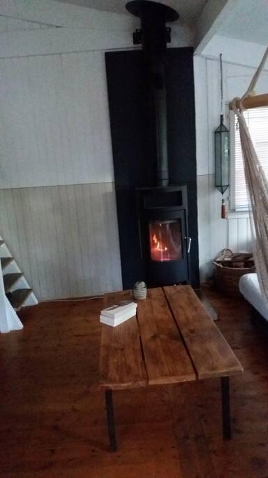un bon feu de bois pour la demi-saison