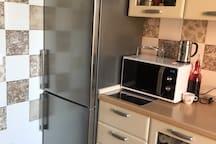 Frigo, freezer e microonde utilizzabili