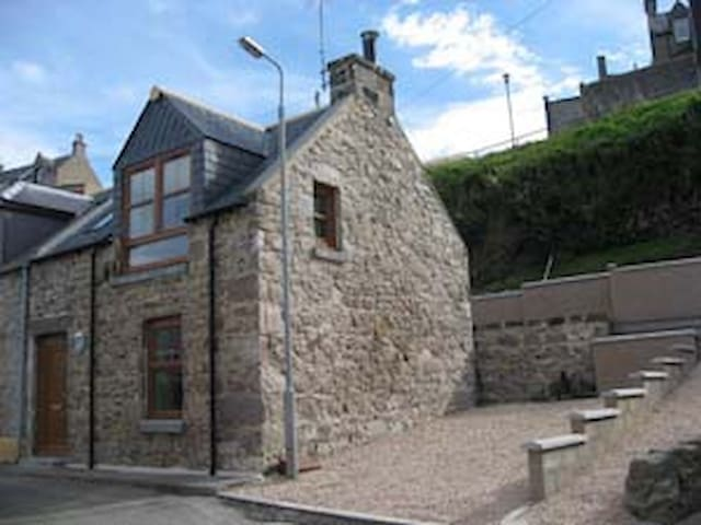 Rannawa Cottage on The Moray Coast of Scotland