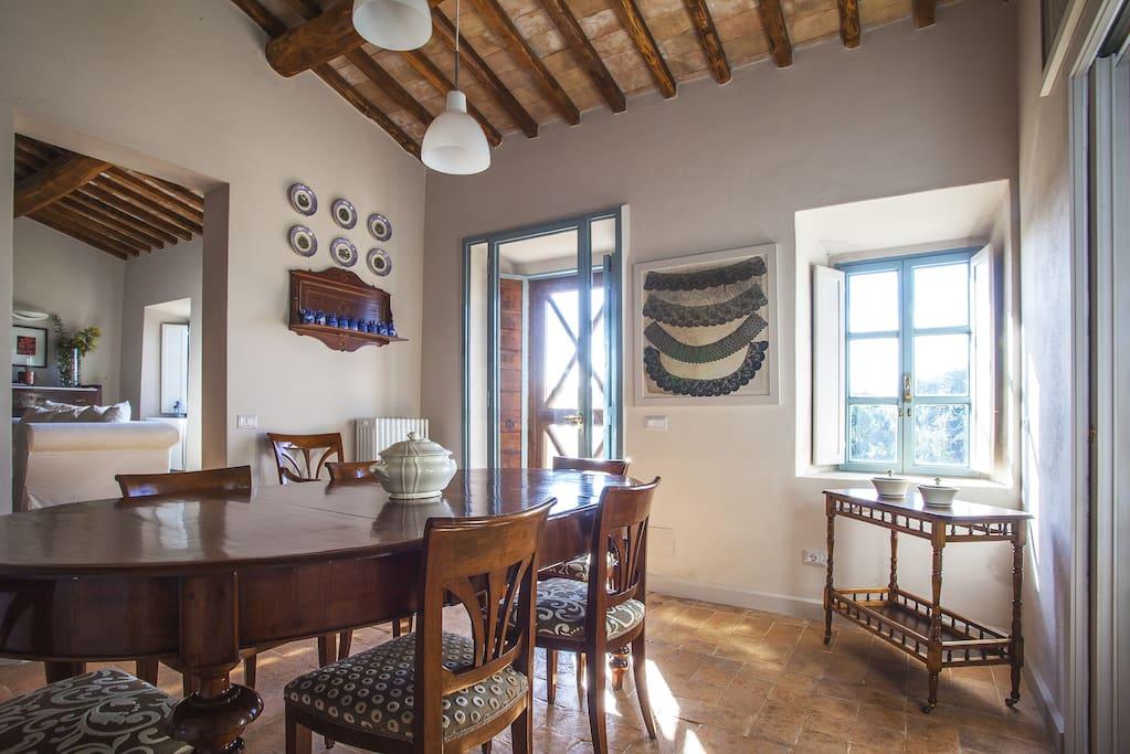"""La Pergola"" dining table"