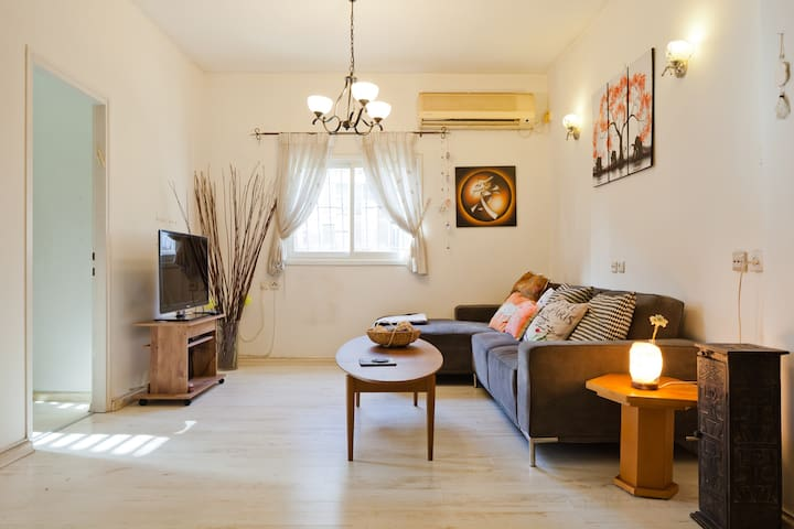Fantastic location!  10 minutes from Tel Aviv!.