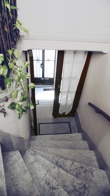 Marble staircase - Private entrance