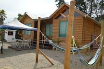 cabaña muy tranquilo lugar cerca de cerro la Campana y centro de Olmue