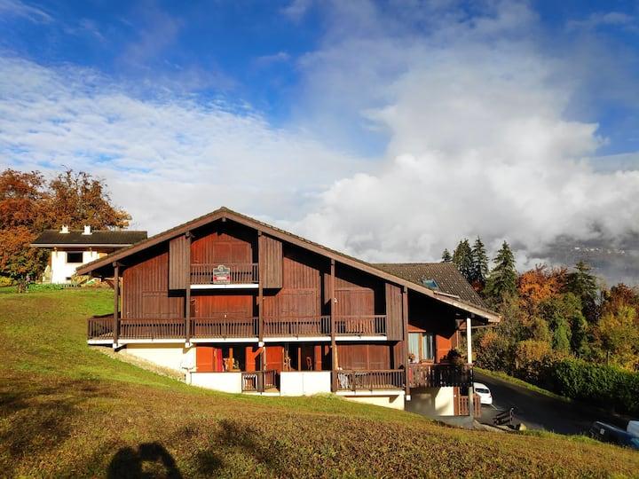 Studio montagne à Saint Gervais Classé 2 étoiles