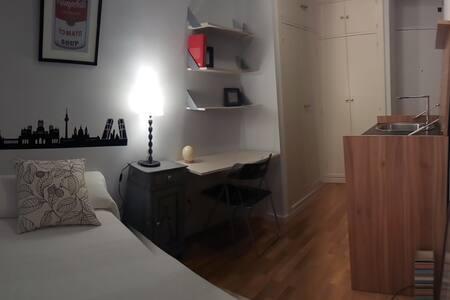 Acogedora y silenciosa habitación individual.