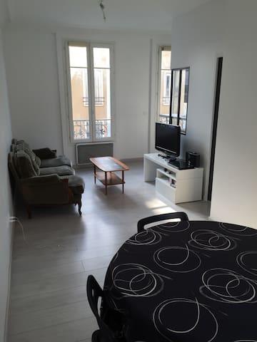 40m², très bien placé & très bien agencé, lumineux - Saint-Mandé - Apartment