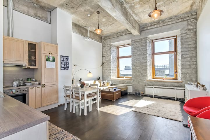 Trendy home in the historical Fahle House