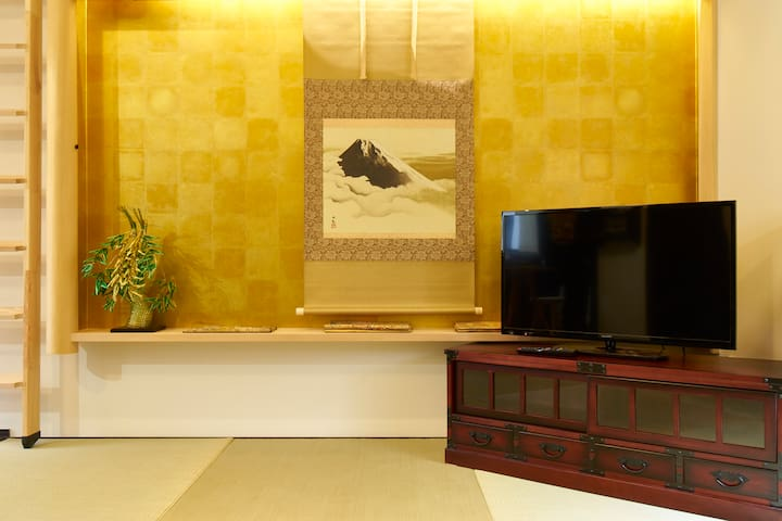 *New*Exclusive LOFT Machiya house*4minJR(Kogane) - Nakagyō-ku, Kyōto-shi - House