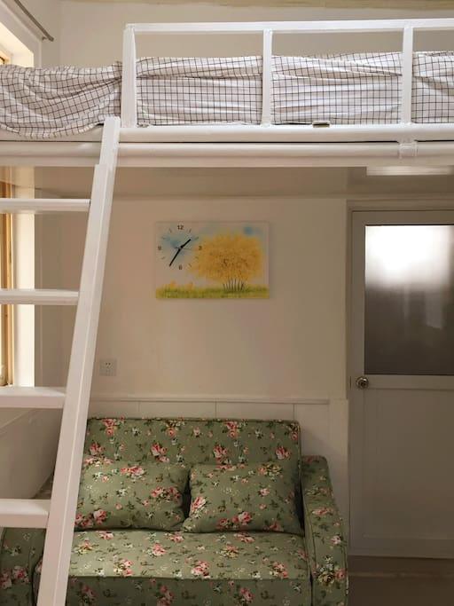 吊床+折叠沙发