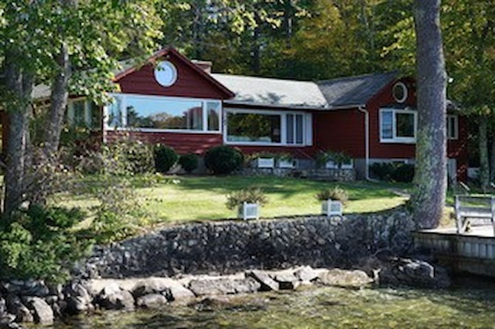 Wolfeboro Lakeside Home with breathtaking views