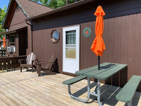 Where the Glen Lakes meet: Hill Haven Cabin 6