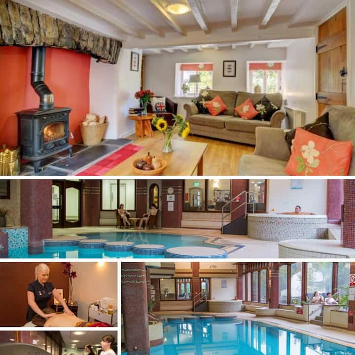 ❤️   Fabulous rural escape, leisure pass-hot tub