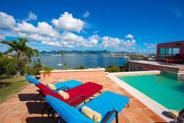 Alexandra - Amazing Panoramic Views - Les Terres Basses - Vila
