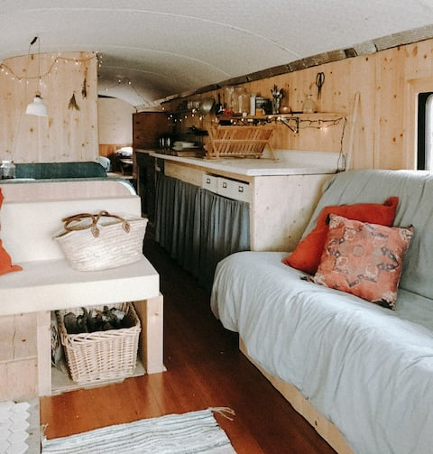 Bus-chalet OFF THE GRID