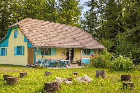Blue Cottage - a little family house in the nature