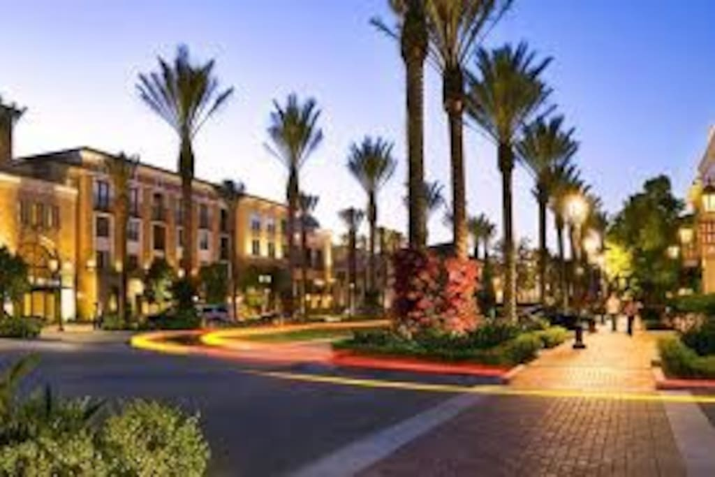Resort style luxury living across from spectrum Living spaces irvine
