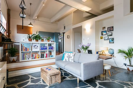 Loft style warehouse conversion