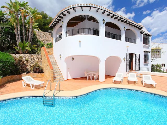 A Charming House  with a Sea and Mountain View!! - Dénia - Hus
