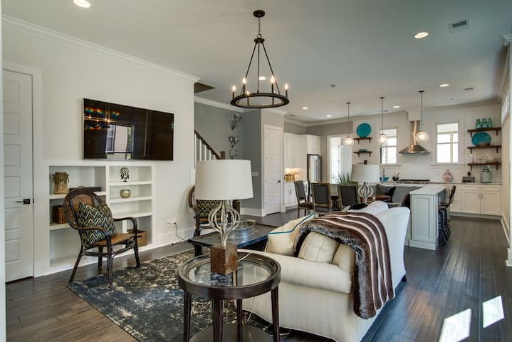 Beautiful new home in Nashville's 12 South!