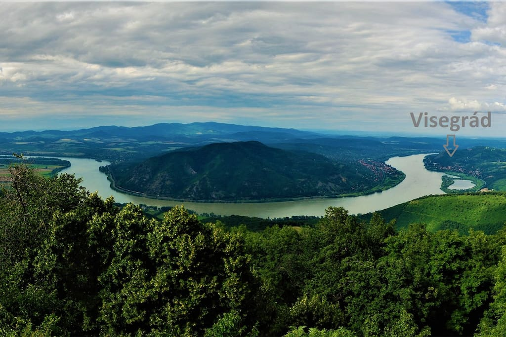 The Whole Danube Bend.