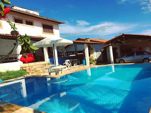 Beach House B&B - Suíte 2 - 150 mts praia + café