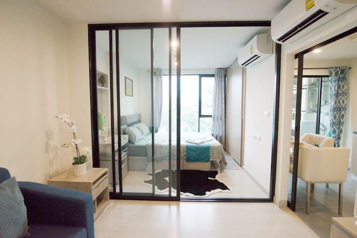 泰舒适#素坤逸50号高端国际公寓#On Nut空铁旁交通便利