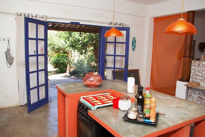 Casa do Tucano,lugar de descanso e relax em Búzios