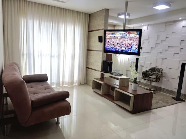 Ótimo APTO em Aracaju(píscina, ar, wifi, Netflix)