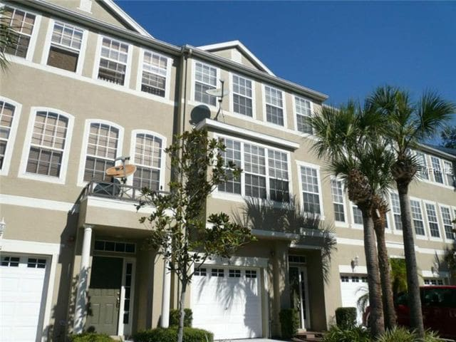 South Tampa 3 Bedroom Townhome Townhouses For Rent In