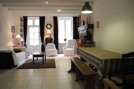 Maison typique entièrement restaurée sur le Port - Barfleur - Huis