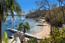 Paradise Beach on Pittwater, near Clareville