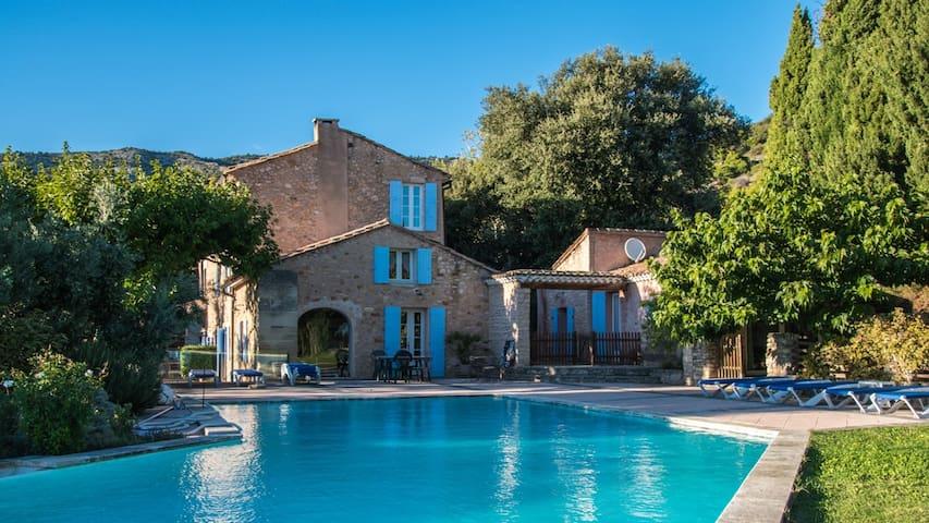 Holiday home in ancient masonry, Provence -Atelier - Bédoin - Rumah