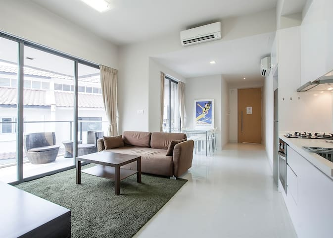 Cozy & Spacious 1 BR Apartment - Singapur - Wohnung