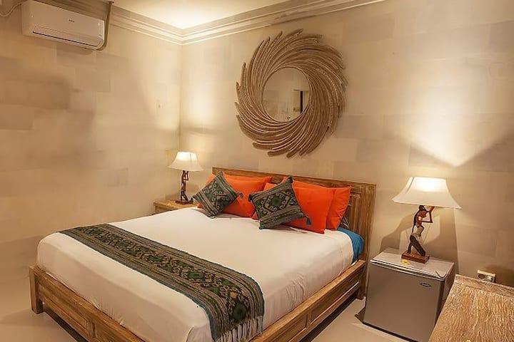 Chambre privée, Village à 2 km à pied d'Ubud