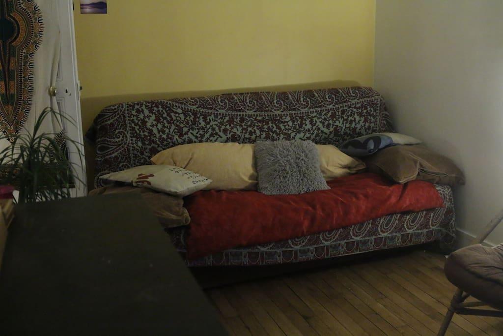 canapé lit pour 1 ou 2 personnes