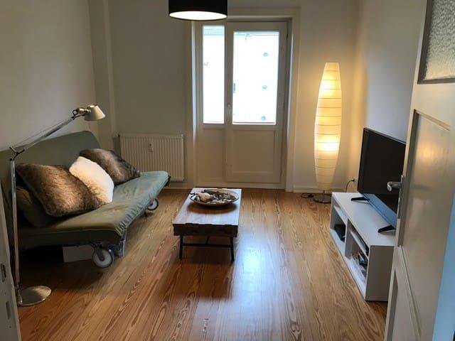 Schöne kleine Wohnung in Nähe des Stadtparks - Hamburgo - Apartamento