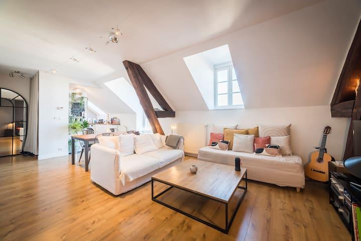 Appartement cosy au coeur du quartier historique