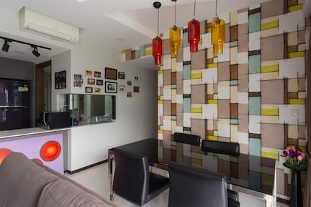 Charming Condo Room near to Mall - Apartment