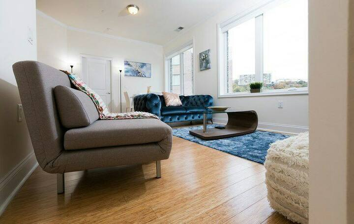 Awesome sweet lux 2 bed 2 bath apt at NJ