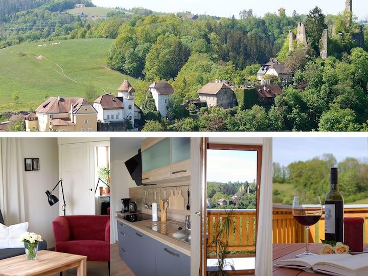 Ferienwohnung Passau | Über den Dächern von Hals