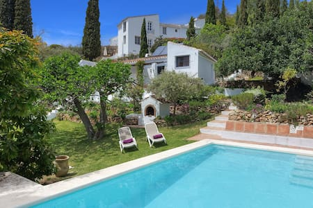 1 bedroom private villa with pool and gardens - Frigiliana - Casa de campo