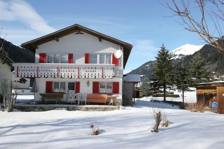 Apartment in St. Gallenkirch with Garden, BBQ & Parking
